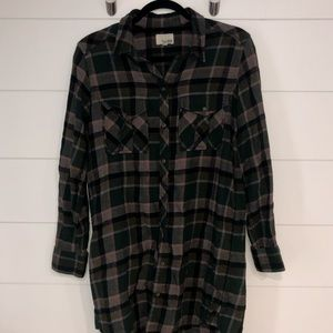 Wilfred Free Button Down Long Flannel